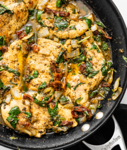 Skillet Tuscan Chicken