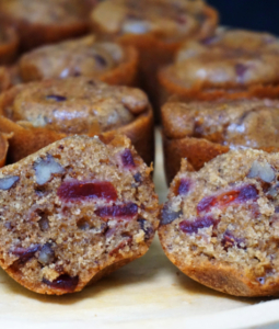 Instant Pot Cranberry Orange Muffin Bites