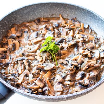Creamy Mushrooms