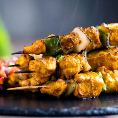 Easy Chicken Tikka Kebab Skewers