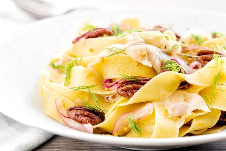 Fennel Pasta with Orange