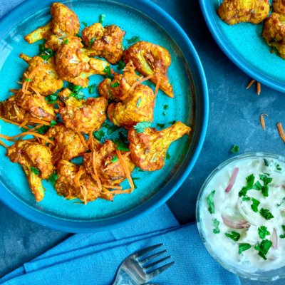 Easy Roasted Tandoori Cauliflower Wings