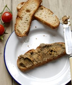 Borlotti Bean, Hazelnut and Porcini Pâté