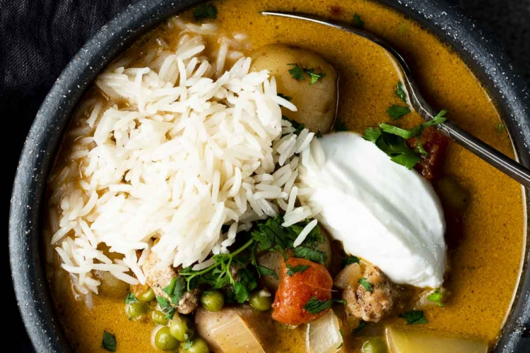 Instant Pot Chicken Curry Soup