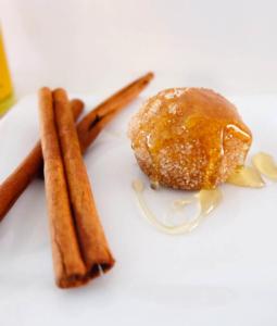 Mini Cinnamon Sugar Honey Puffs