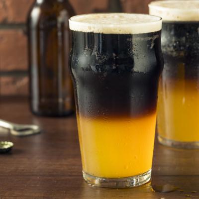 Irish Black and Tan Beer Drink