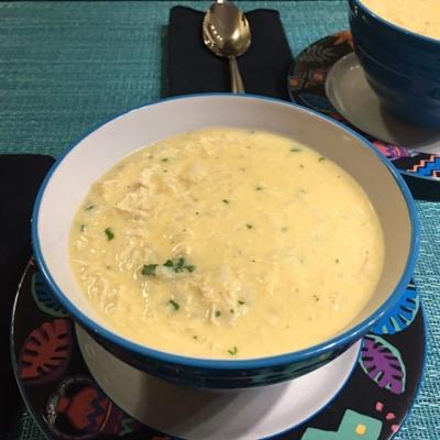 Avgolemono Chicken Soup