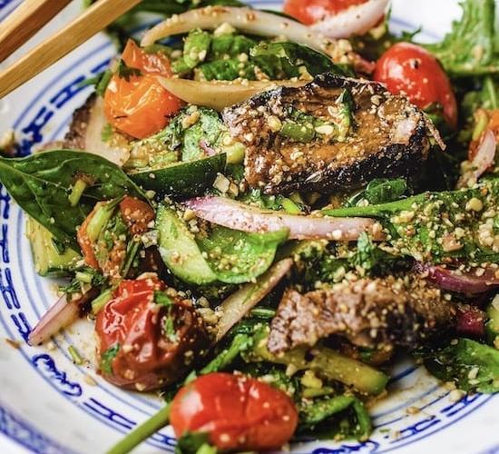Thai Beef Salad (Nam Tok)