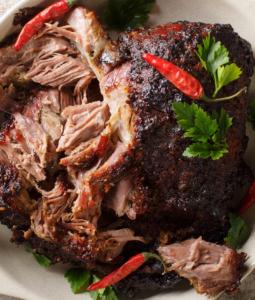 Traditional Pernil Asado (Roasted Pork Shoulder)