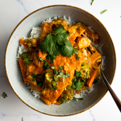 Salmon Coconut Curry