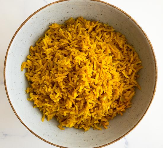 Turmeric Rice