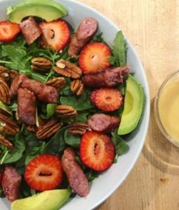 Maple Pecan Strawberry Salad