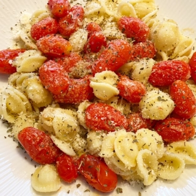 Fried Cherry Tomatoes