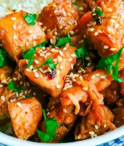 Healthy Sesame Chicken Stir Fry