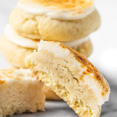 Crème Brûlée Cookies