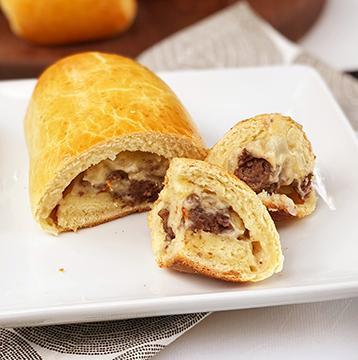 Wagyu Beef Breakfast Sausage Kolaches