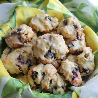 Blueberry Lemon Drop Biscuits