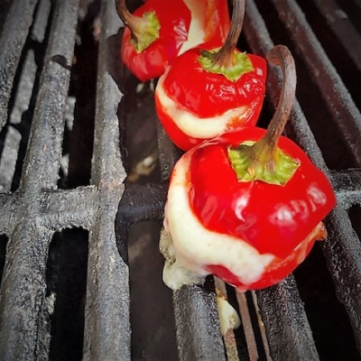 Grilled Stuffed Cherry Peppers