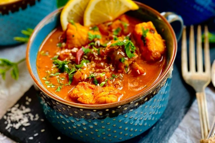 Delicious Monkfish Curry