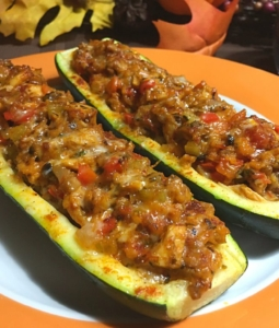 Zucchini Turkey Boats