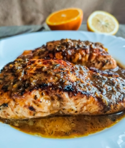 Browned Butter Salmon
